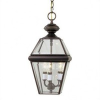 Craftmade Exterior Lighting Cast Aluminum Outdoor Hanging Pendant Lantern with Bound Glass - Z1961-2 - Exterior Lighting - Lighting