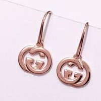 GUCCI New fashion pearl diamond long earring