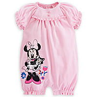 Minnie Mouse Corduroy Romper for Baby