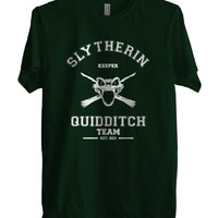 Slytherin Quidditch team KEEPER Men T-shirt