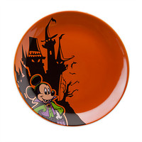 Mickey Mouse Halloween Dessert Plate | Disney Store