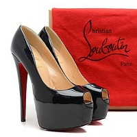 CL Christian Louboutin Fashion Heels Shoes-77