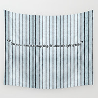 Where the light emerges Wall Tapestry by anipani