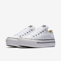 The Converse Chuck Taylor All Star Platform Low Top Women's Shoe.