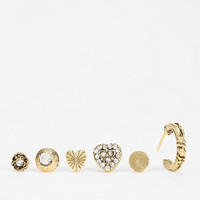 Mismatched Love Earring Set - Urban Outfitters