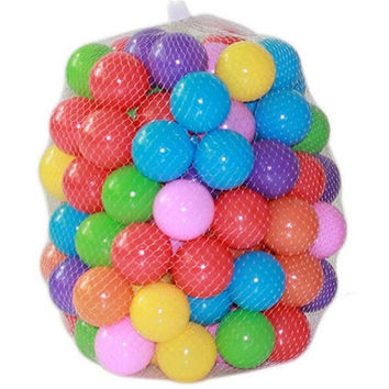 New 100pcs/lot Eco-Friendly Colorful Soft Plastic Water Pool Ocean Ball Baby Funny Toys Color Mixing Round Balls For Kids = 1945955908