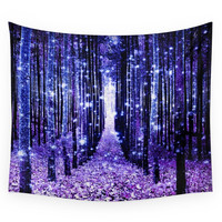 Society6 Magical Forest Wall Tapestry