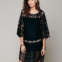 Free People Ibiza Lace Kaftan