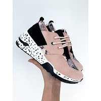 Toba Lace Up Sneakers (Blush)