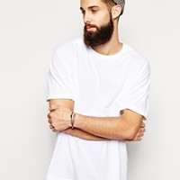 ASOS T-Shirt With Oversized Fit And Roll Sleeve