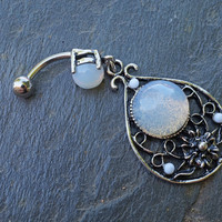 Opalite Belly Button Rings