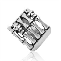 Jewelry New Arrival Gift Shiny Titanium Fashion Stylish Men Punk Accessory Ring [6526791939]