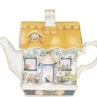 Rose Cottage Collectible Teapot