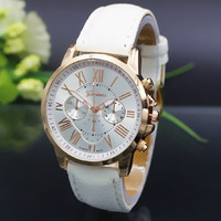 NEW Fashion Couple Watch Charm Quartz Watches Leather Young Sports Women Men gold watch Casual Dress Wristwatches relogios feminino BY EZMAX = 1929616516
