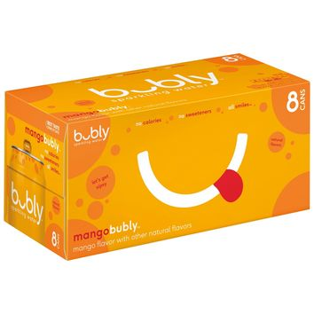 bubly Mango Sparkling Water - 8pk/12 fl oz Cans