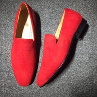 DCCK2 Cl Christian Louboutin Loafer Style #2331 Sneakers Fashion Shoes