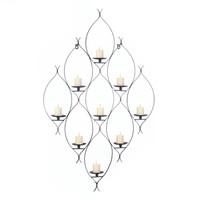 Ambit Wall Decor Hanging Candle Holder Sconce