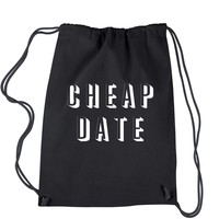 Cheap Date Drawstring Backpack