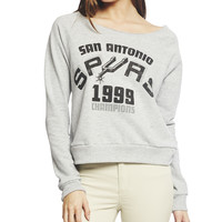 San Antonio Spurs Sweatshirt | Wet Seal