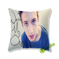 Troye Sivan We're My Otp Square Pillow Cover
