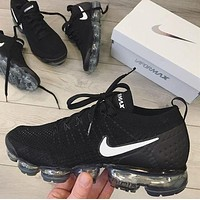 Nike Air Vapormax Fashionable Women Men Casual Sport Running Shoes Sneakers I/A