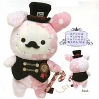 "San-X Sentimental Circus Dreamy Land 9.8"" Shappo with Mustach"