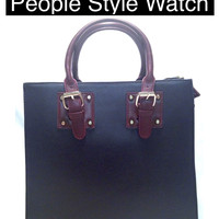 Work Tote Bag (As Seen in People Style Watch)