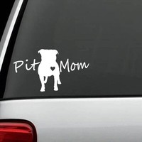 CARPRIE Reflective Waterproof Pit Mom Pit Bull Pitbull Dog Decal Car Sticker Decoration May31 Drop Shipping