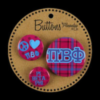 Sorority Pins and Buttons