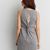 AEO TWIST BACK KNIT DRESS