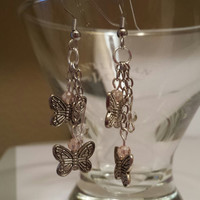 Betsy's Jewelry -  Bead Earrings - Butterflies - Nature - Spring Styles