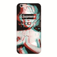 Supreme Marilyn Phone Case All iPhone and iPhone + and All Samsung