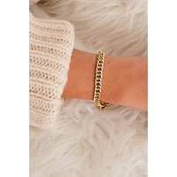 Daily Sparkle Bracelet (Antique Gold)