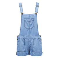 Juno Roll Up Dungaree - Forever New