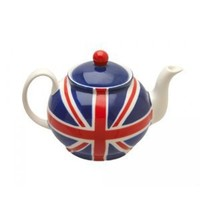 Union Jack Teapot - 2 Cup: Amazon.co.uk: Kitchen & Home