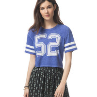 52 Cropped Graphic T