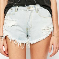 Glamorous Distressed Denim Shorts