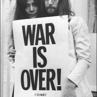 John Lennon - War Is Over - Poster