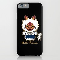Hello Princess iPhone & iPod Case by Fishbiscuit