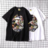 Casual Short Sleeve Plus Size T-shirts [1276632170532]