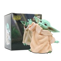 Star Wars Baby Yoda Collection Action Figure Toy PVC