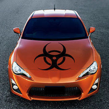 Label radio activ HOOD AUTO VINYL DECAL ART STICKER GRAPHICS FIT ANY CAR AR1567