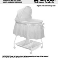 Delta Children's Products Sweet Beginnings Bassinet, White - Walmart.com