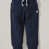 Midnight French Terry Organic Pants - Infant