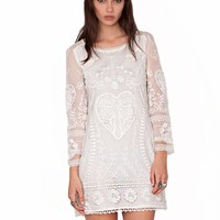 Lace heart dress - Shop the latest Fashion Trends