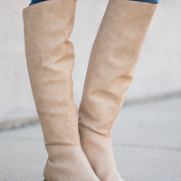 The Catherine Boot, Light Natural