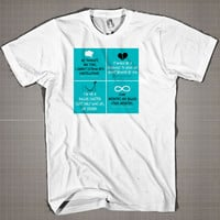 Quotes Some Invities Square  Mens and Women T-Shirt Available Color Black And White