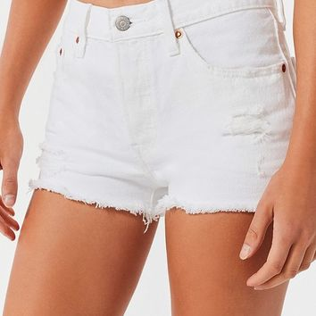 Levi's 501 Mid-Rise Denim Short – Supersonic   Urban Outfitters
