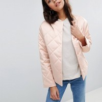 ASOS Luxe Quilted Jacket at asos.com