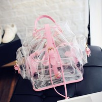 Kawaii Transparent Backpack